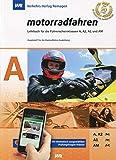 """Führerschein LEHRBUCH """"MOTORRADFAHREN"""" KLASSE A , top aktuell!"""