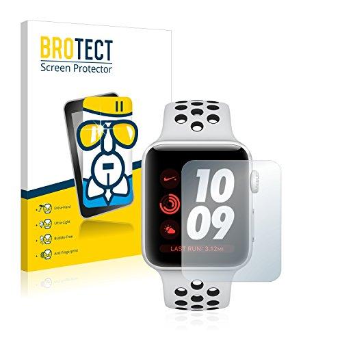 brotect Pellicola Protettiva Vetro Compatibile con Apple Watch Nike Plus Series 3 (42 mm) Schermo Protezione, Estrema Durezza 9H, Anti-Impronte