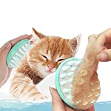 VANVENE Soft Silicone Pet Grooming Brush Washable Cat Grooming...