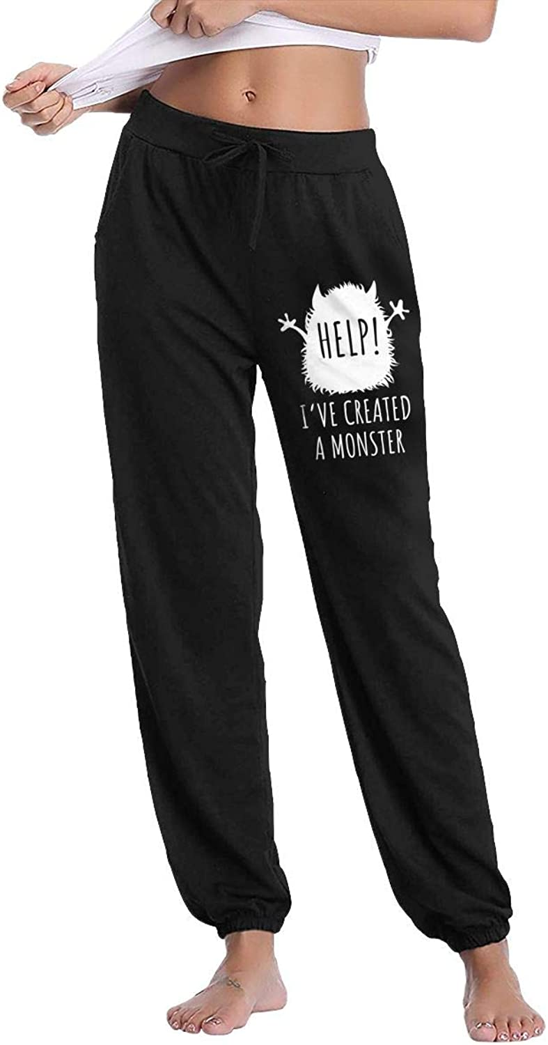 Women's Help  I've Created A Monster Gym Workout Sweatpants With Pockets