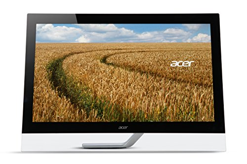 Acer T232HLA Touch Monitor 23 Zoll (58 cm Bildschirm) Full HD, 60Hz, 4ms (G2G), 2xHDMI/ MHL, VGA