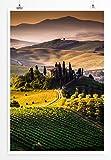 Eau Zone Home Bild - Landschaft Natur – Sonniges Toskana