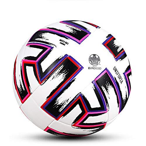 CNSTZX Originale Molten Pallone da Calcio Ufficiale Formato Size 5, Pallone di Calcio Sport di Squadra di Calcio di Formazione League Palle Futbol Bola
