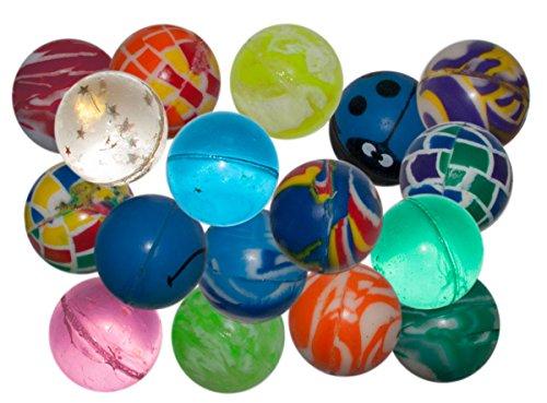 100 x Flummis Flummi Springball 32 mm Hüpfball Bouncing Ball Mitgebsel Tombola