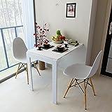 JDHFKS Tablett Bett Snack-Tisch Klappbarer Wandklapptisch Esstisch Laptop Schreibtisch Klappbilderrahmen, Massivholz-Haushaltsstange, 90 * 60 Cm, Notebook-Ständer Lesehalter Mobiler Nachttisch Schreib
