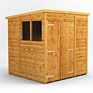 All sheds have high grade premium quality Scandinavian tongue and groove timber throughout including roof and floor – No chipboard or OSB. Our wooden sheds use 12mm extra thick shiplap cladding responsibly sourced in line with our sustainability poli...