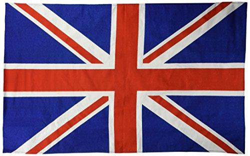 mächtig der welt Baumwolltuch von Elgate Products Limited, Union Jack-Motiv
