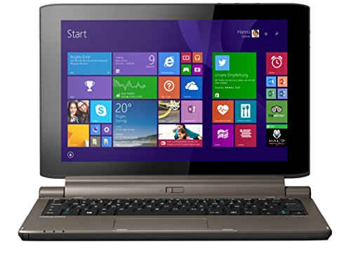 MEDION AKOYA P2214T (MD 99430) 29,5 cm (11,6 Zoll) 2-in-1 Multimode Touch-Notebook (Intel Celeron N2940, 1.83 GHz, 4GB RAM, 500GB HDD, 64GB Flash-Speicher, Windows 8.1) titan
