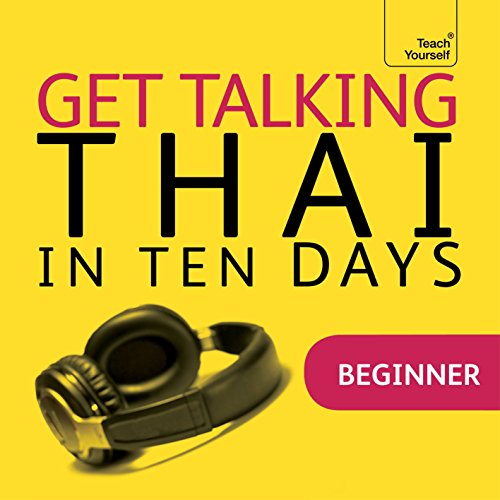 Couverture de Get Talking Thai in Ten Days