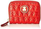 Tous Monedero M. Sherton Mujer, Rojo (Rojo), 10x8x2.5 cm (W x H x L)