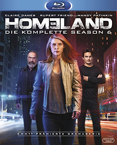 Homeland - Season 6 [Blu-ray]