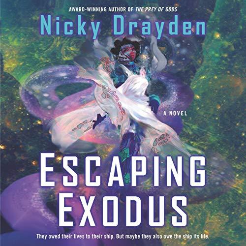 Escaping Exodus audiobook cover art