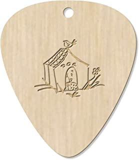 7 x 'Dog House' Guitar Picks / Pendants (GP00008799)