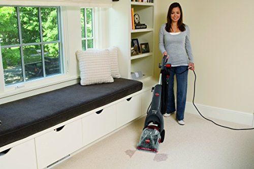 BISSELL InstaClean Pet Carpet Washer, 450 W, Titanium/Red