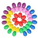 YOTINO 42 pezzi Set di shaker per uova Maracas Strumento musicale Uova Uova musicali Shake...