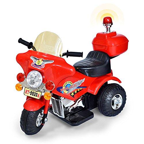 GOODS+GADGETS Elektromotorrad | Kinderfahrzeuge Elektrofahrzeuge Kinderdreirad E-Scooter Kinderroller | Kinder-Motorrad mit Akku