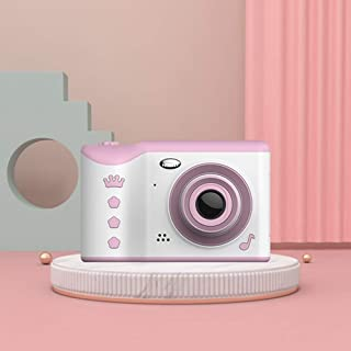 Children Camera 1910 2.8 inch 1800W Pixels Dual Lens Touch Screen Digital Camera for Children, Support 32GB TF Card (Pink) (Color : Green)