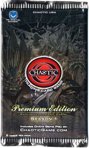 TC Digital Games Chaotic Card Game Premium Edition Season 1 Blister Pack 12 Cards