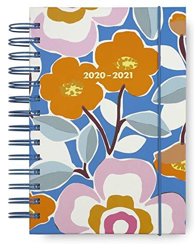Kate Spade New York 17 Monate Medium Hardcover 2019-2020 Tagesplaner, Wochen- und Monatsplaner mit Aufklebern, Taschenmappe und Trennblättern, 19,1 x 12,7 cm, August 2019-Dezember 2020 M Pop Floral