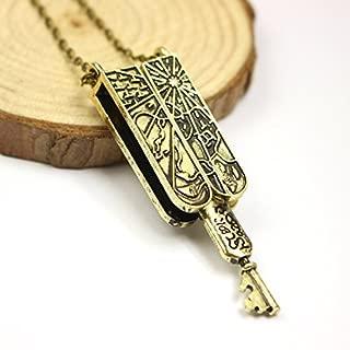 Lolita Vintage Jewelry Grimm Key Necklace Mechanical Nick Burkhardt