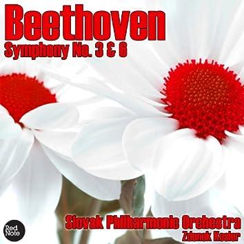 Beethoven: Symphony No. 3 & 6