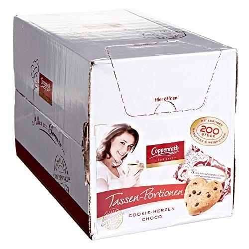 Coppenrath Cookie-Herzen Choco einzeln verpackt 200x5g
