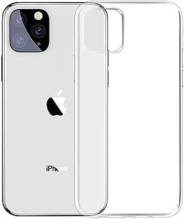 كفر ايفون 11 برو ماكس من شركة بيسوس سلسة البساطة - لون شفاف