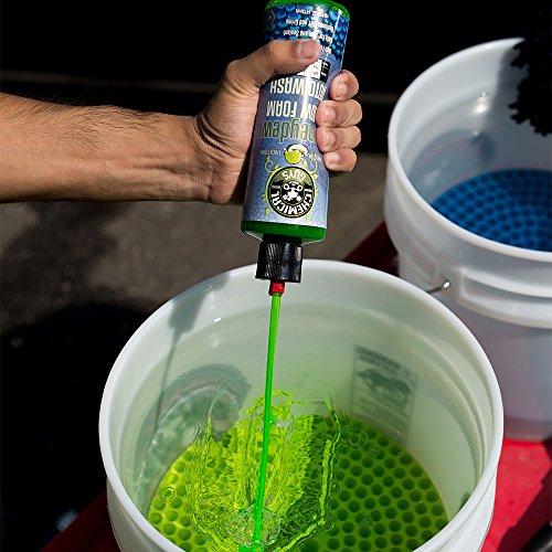 Chemical Guys CWS_110 Honeydew Snow Foam Car Wash Soap (Works with Foam Cannons, Foam Guns or Bucket Washes), 1 Gallon, Honeydew Scent, 1 Gal/128 oz