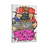TYJFG Beastie Boys Leinwand-Kunst-Poster und