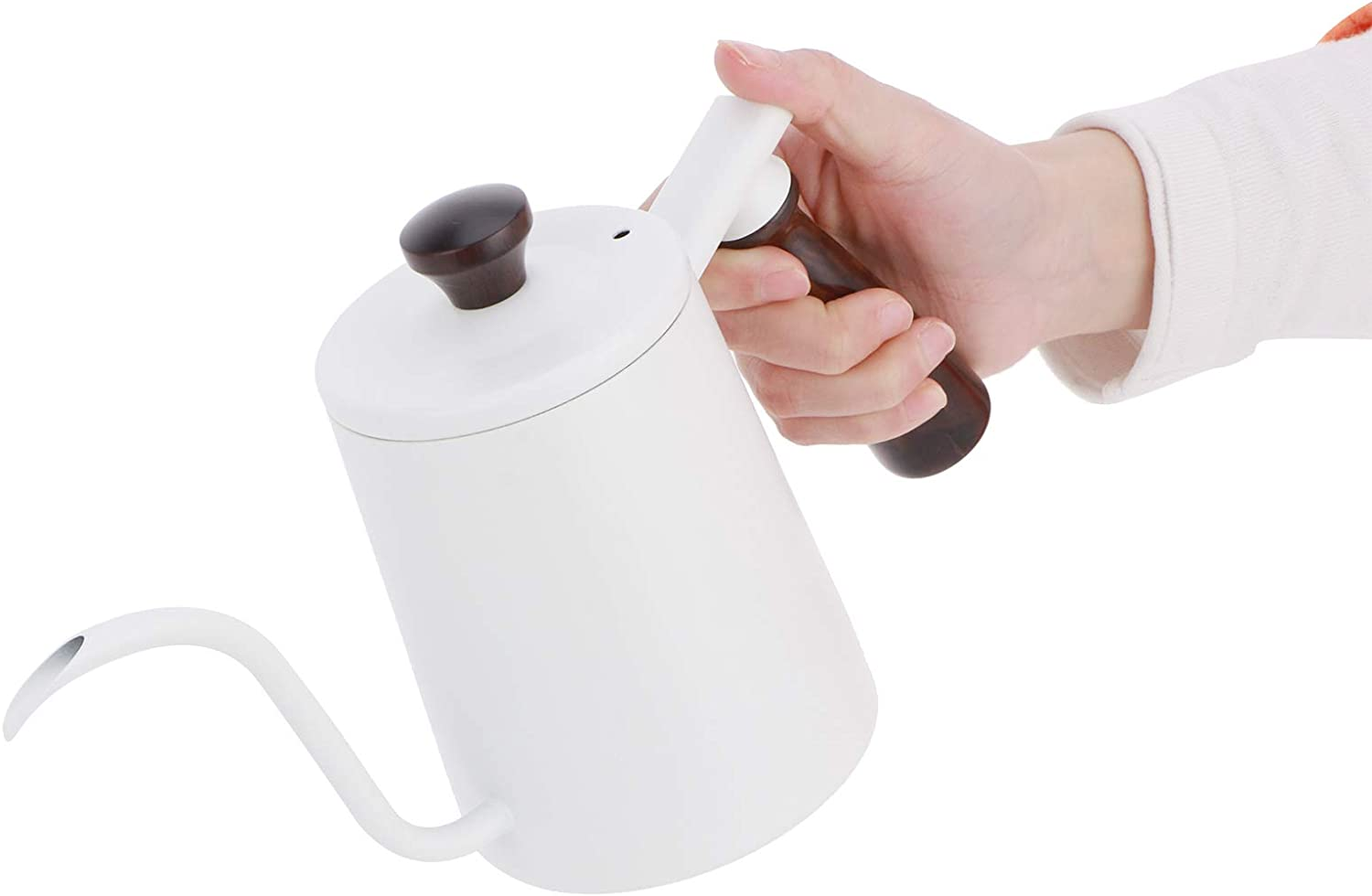 Coffee Pot Max 74% OFF Selling rankings Drip Kettle Wooden Anti‑scalding Hand Humanized