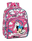 Mochila Infantil de Minnie Mouse de safta 612012609, Color Rosa