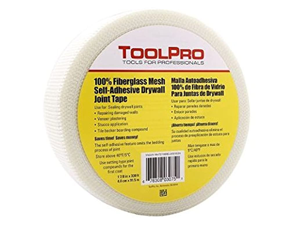 ToolPro Drywall Mesh Tape -White 300' Roll