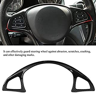 The Alley - 1PC hot 32 10cm Carbon Fiber Style Car Steering Wheel Frame Trim for Mercedes-Benz C E GLC Class W205 W213 X253