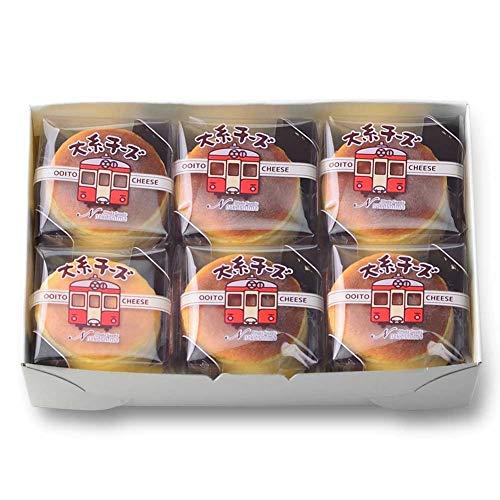 新潟スイーツ・ナカシマ:大糸チーズ(6個入) -クール冷凍-