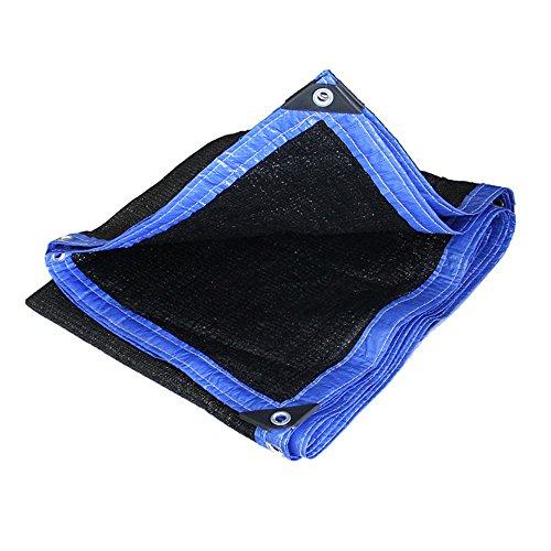 Sunblock Abat-jour de voile d'ombre de Sun d'ombre de tissu de nuance noire - bloc UV pour le patio et extérieur Taille facultative (Couleur : Black, taille : 3×5CM)