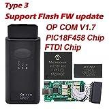 OBD2 Selbstdiagnosewerkzeug Mit PIC18F458 FTDI V1.65 V1.78 V1.99 OBDII Auto-Diagnosewerkzeug Für...
