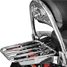 Cobra Tubed Luggage Rack for Kawasaki Vulcan 900/Vulcan 1700 VN Model O.E.M. Ba