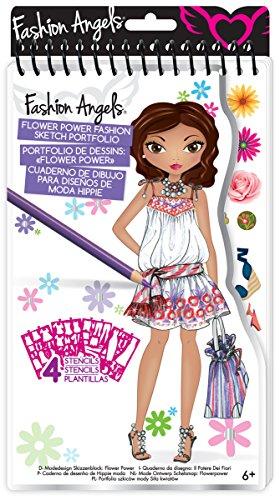 Fashion Angels - 11476 - Loisir Créatif - Mini Portfolio - Modèles à Dessiner - Theme Mode