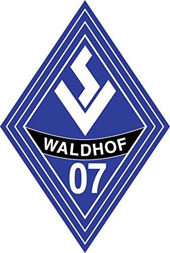 SV Waldhof Mannheim FC Germany Soccer Football Hochwertigen Auto-Autoaufkleber 8 x 12 cm
