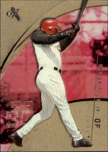 2002 E-X #3 Ken Griffey Jr. MLB Baseball Trading Card