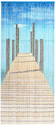 Unbekannt Bambustürvorhang Bambusvorhang Türvorhang Bridge ca. 90x200cm