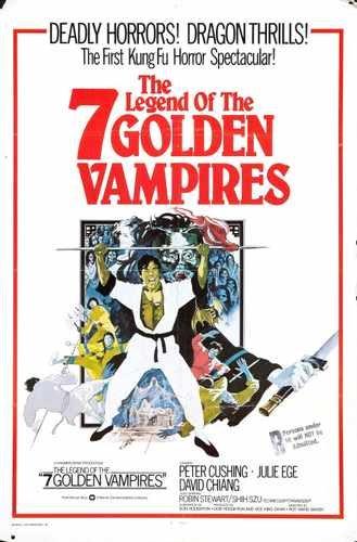Legend Of 7vampiros de oro cartel 04A3caja impresión de Lienzo