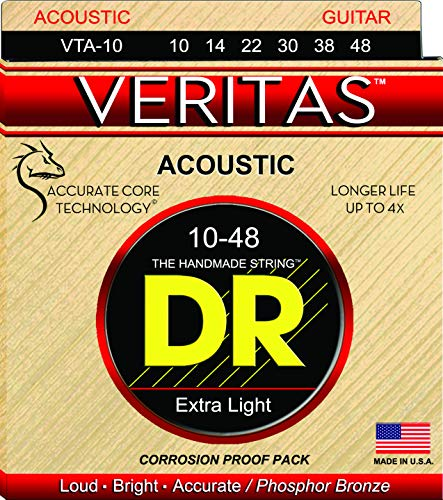 DR Strings VTA-10 Veritas Phosphor Bronze