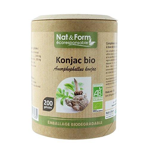 Nat & Form - NAT&FORM KONJAC BIO 200 GELULES