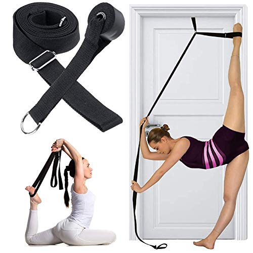 AMENKER Leg Stretcher Door Flexibility Stretching Leg Strap, 9.8ft Door Flexibility Stretching Leg Strap Great Cheer Dance Gymnastics Trainer Stretching Equipment