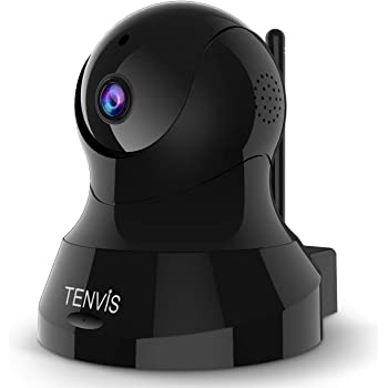 Pet Camera - TENVIS Dog Camera Wireless Indoor Security Camera w/Motion Detection, Two-Way Audio, Enhanced Night Vision, Home Surveillance Camera with MicroSD Slot, iOS/Android