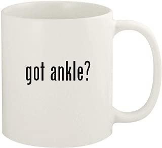 got ankle? - 11oz Ceramic White Coffee Mug Cup, White