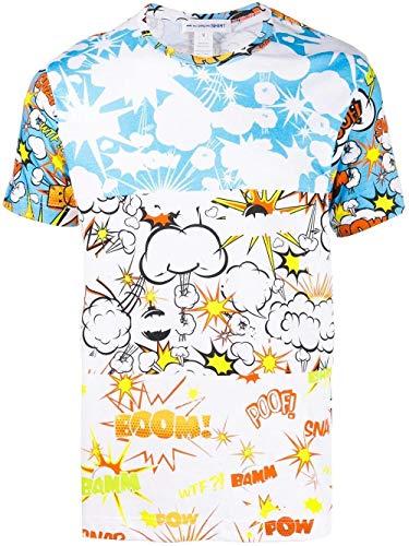 Comme des Garçons Shirt Luxury Fashion Herren W271031 Multicolour Baumwolle T-Shirt | Frühling Sommer 20