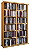 VCM Ronul-Torre para CD/DVD, para 300 CDs, sin Puerta de
