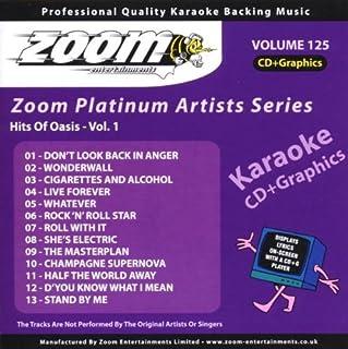 Zoom Karaoke CD+G - Platinum Artists 125: Oasis by Zoom Karaoke